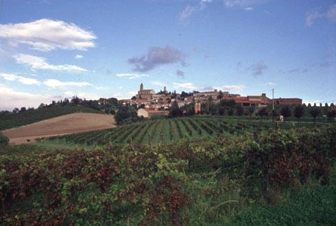 Vista di Casale Monferrato, Piemonte