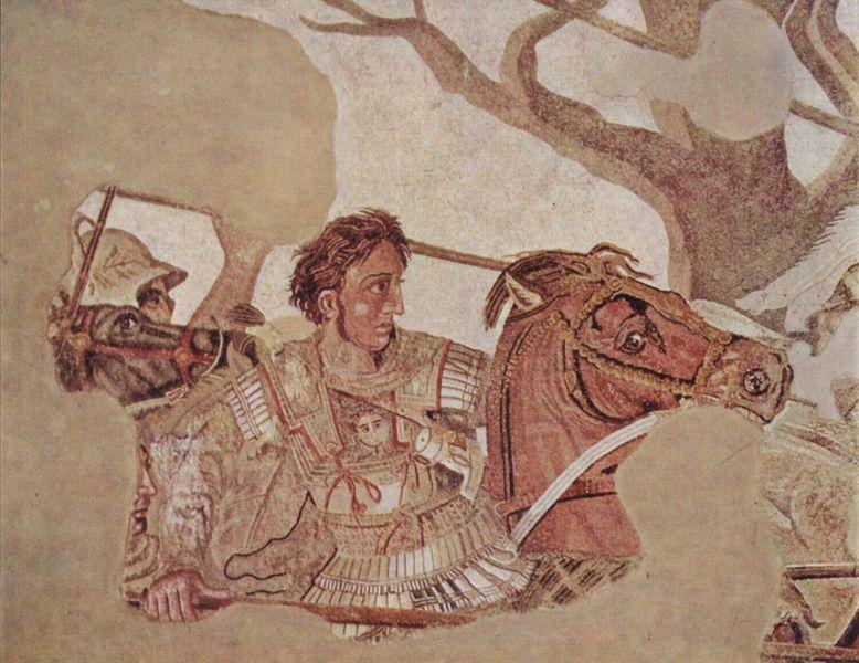 Alessandro Magno e il vino