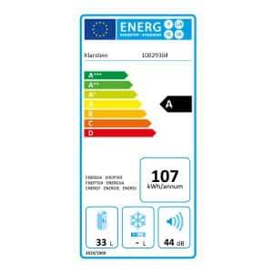 classe energetica consumi Klarstein reserva
