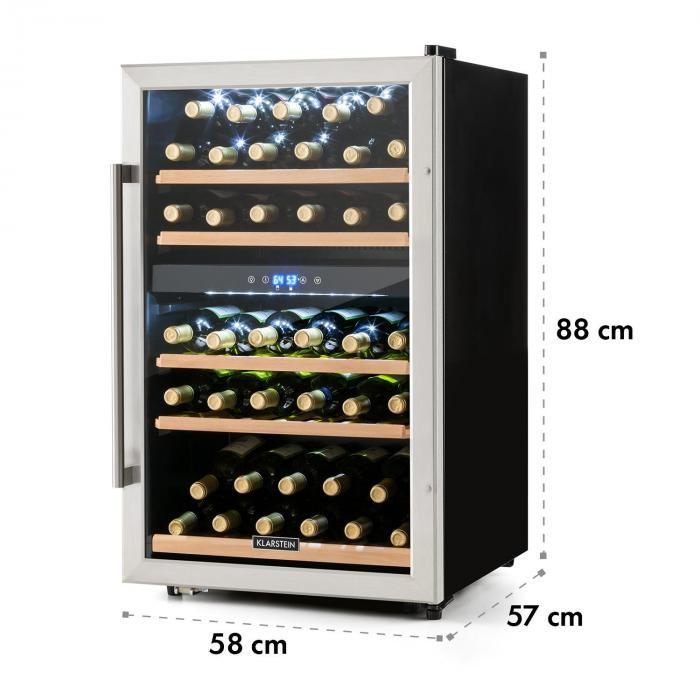 klarstein vinamour 40d dimensioni