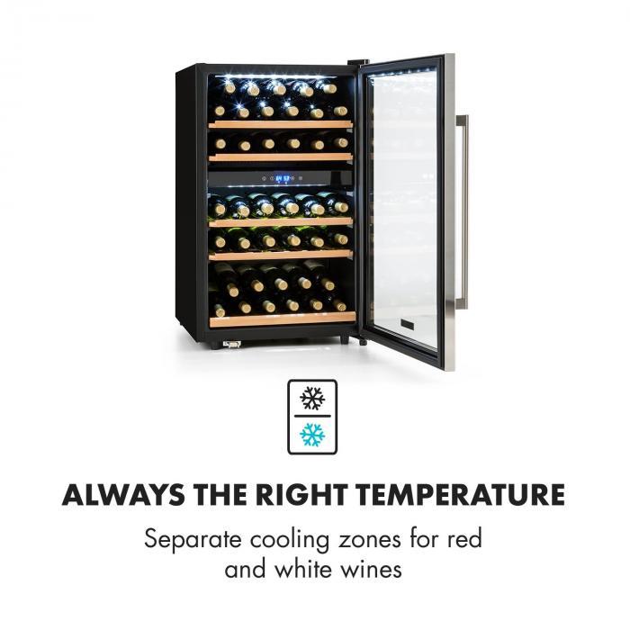 klarstein vinamour 40d prova